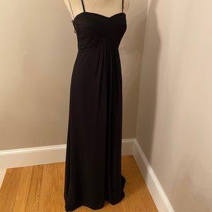Bill Levkoff Black Evening Gown / Dress